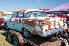 1956 Bel Air Chevy Royalty-vrije Stock Afbeeldingen