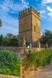 Bel Alcazar de Christian Kings, Cordoue Image stock