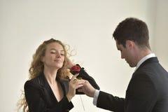 Bel amour de couples Image libre de droits