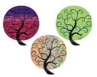 Bel arbre illustration de vecteur