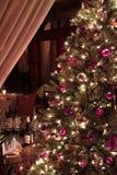Bel arbre de Noël Photographie stock libre de droits