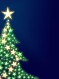 Bel arbre de Noël Photos libres de droits