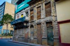 Bel architectural abandonné et fermé Images stock