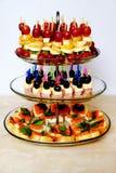Bel arrangement de fête de table photographie stock