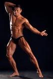 Bel athlète Photo libre de droits