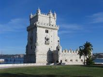bel de μ Πορτογαλία torre Στοκ Εικόνα