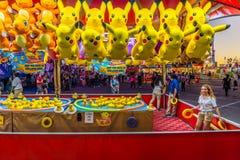 Bel Duck Game royalty-vrije stock afbeelding