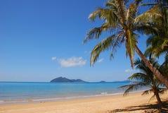 Bel emplacement de plage Photo libre de droits