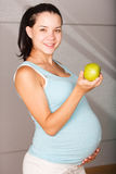 Bel enceinte sain Photographie stock