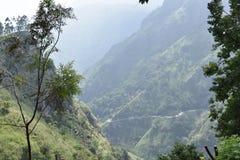 Bel endroit de nature Ella Sri Lanka image libre de droits