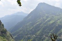 Bel endroit de nature Ella Sri Lanka images stock