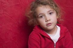 Bel enfant pensif Photographie stock libre de droits
