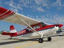 Bel entraîneur acrobatique aérien américain du champion 7GCBC image libre de droits