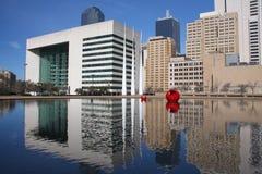 Bel hôtel de ville à Dallas images libres de droits