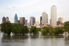 Bel horizon de Dallas de ville Photo stock