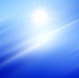 Bel horizon de mer. Image libre de droits
