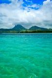 Bel horizontal Îles Maurice Photographie stock libre de droits