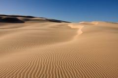 bel horizontal de désert photographie stock