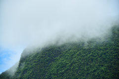 Bel horizontal de montagne Image libre de droits