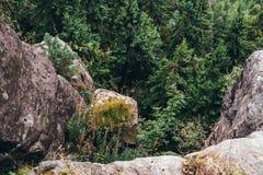 Bel horizontal de montagne Photos stock