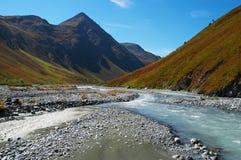 Bel horizontal de montagnes. Images stock