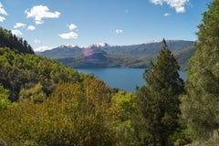 Bel horizontal de nature dans le Patagonia, Argentine Photos libres de droits