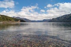 Bel horizontal de nature dans le Patagonia, Argentine Image libre de droits