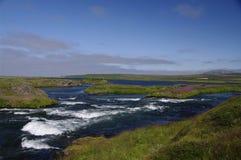 Bel horizontal en Islande Images libres de droits