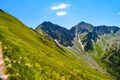 Bel horizontal en montagne Photographie stock libre de droits