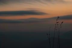 Bel horizontal montagneux photos stock