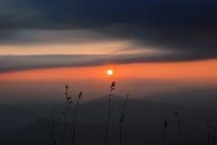 Bel horizontal montagneux photographie stock