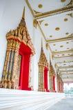 Bel hublot thaï de temple image libre de droits