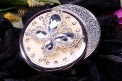 Bel Indien oriental de boîte à bijoux, Arabe, Africain, égyptien Accessoires exotiques de mode image stock