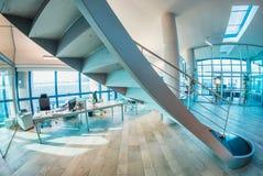 Bel intérieur moderne de bureau Utile pour des brochures d'affaires Image libre de droits