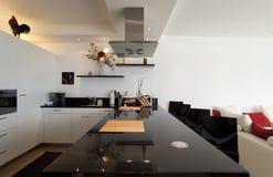 Bel intérieur d'une maison moderne Image stock