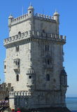 The Belèm Tower Close Up Royalty Free Stock Photos