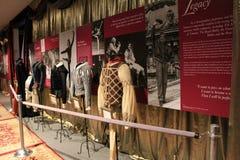 Bel objet exposé couvrant l'amour de Rudolph Nureyev de la danse, Musée National de danse, Saratoga, 2016 Photographie stock libre de droits