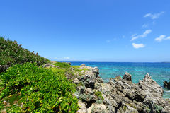 Bel océan Photographie stock