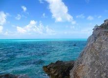 Bel océan des Caraïbes Image libre de droits