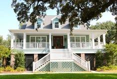 Bel océan Front House dans Biloxi, Missis Images stock