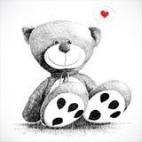 Bel ours de nounours Photographie stock