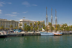 Bel yacht Photos stock
