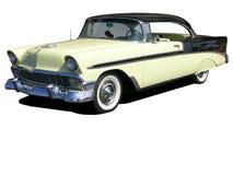 bela 1956 chevrolet powietrza obraz royalty free
