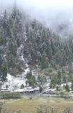 bela kabinowy śnieg Fotografia Stock