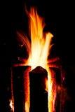 bela płonąca Obrazy Stock