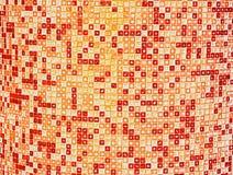 belagd med tegel abstrakt bakgrund Arkivfoton