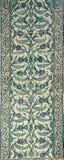 Belagd med tegel mosaikvägg Royaltyfri Foto