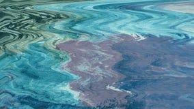 Belagd med tegel yttersida Akryllappar på kanfas Texturerat digitalt papper Krabbt konstverk Naturlandskapsikt arkivfoto