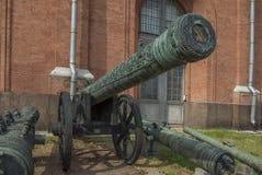 Belagerung 152-Millimeter pischal Stockfotos