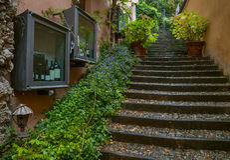 Belaggio, See Como, Italien Stockfotografie